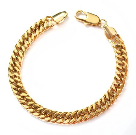 złota bransoletka nieskończoność